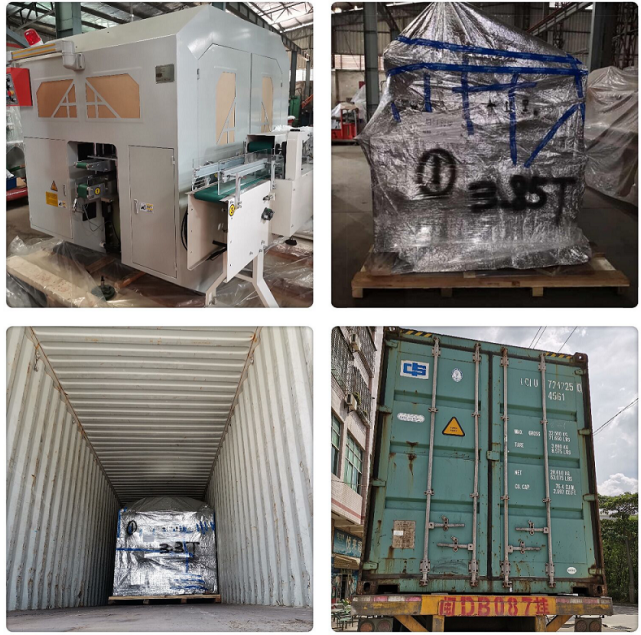 Packing & Delivery of Facial Tissue Log Saw Cutter