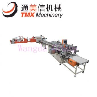 Semi Automatic Toilet Paper Multiple Rolls Packing Machine